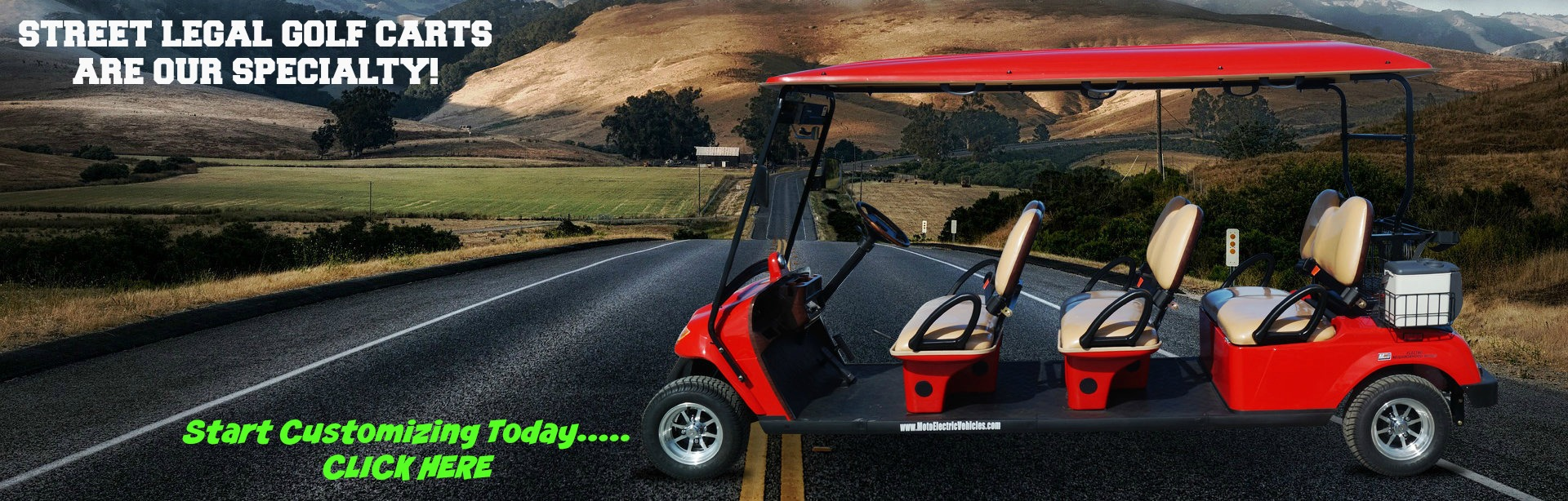 Street Legal Golf Carts for Sale
