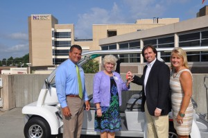 Novant Health Receives their New MotoEV 6 Passenger Low Speed Vehicle!