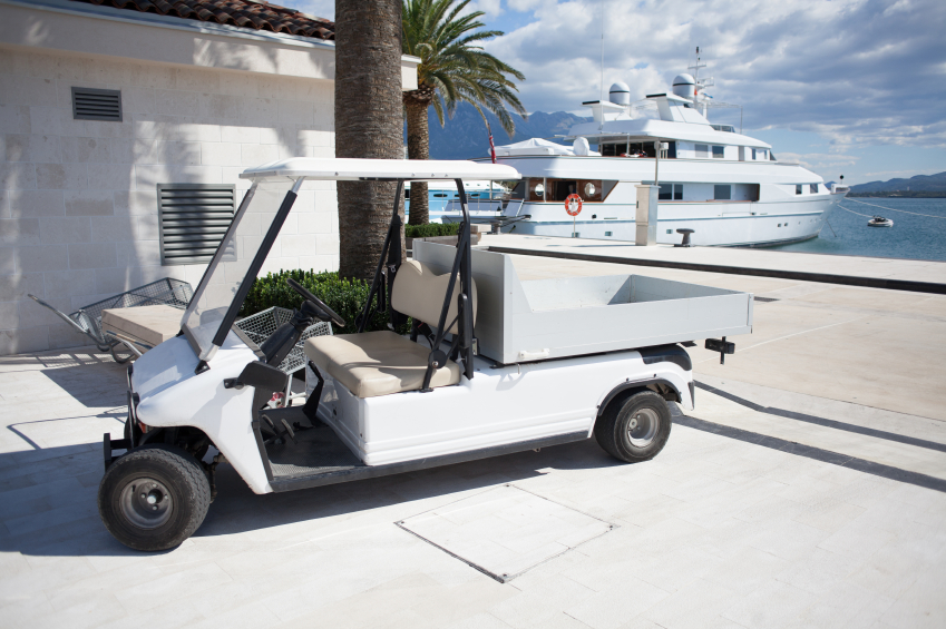 Golf Carts -- A Better Way to Get Things Done