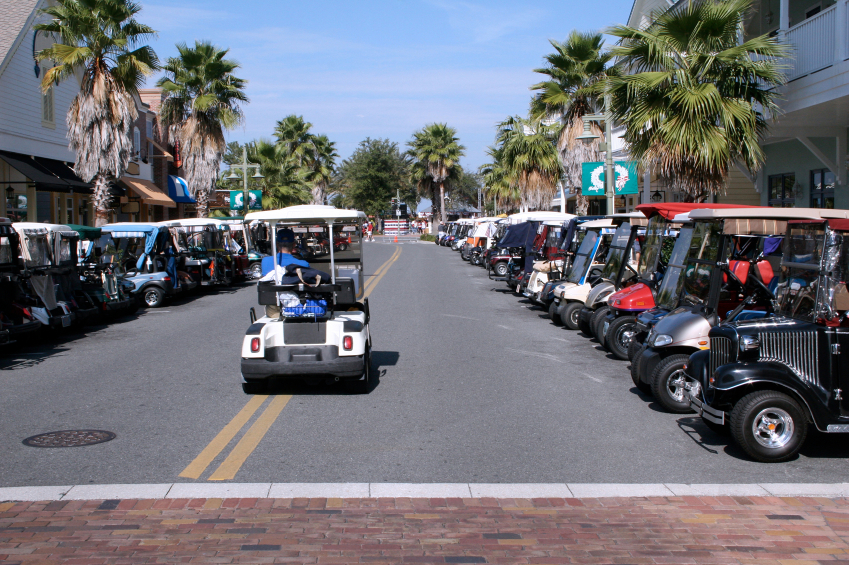 Why Electric Golf Carts Might Rule the Roads