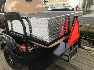 New! Cargo Insert for Rear Facing Golf Cart