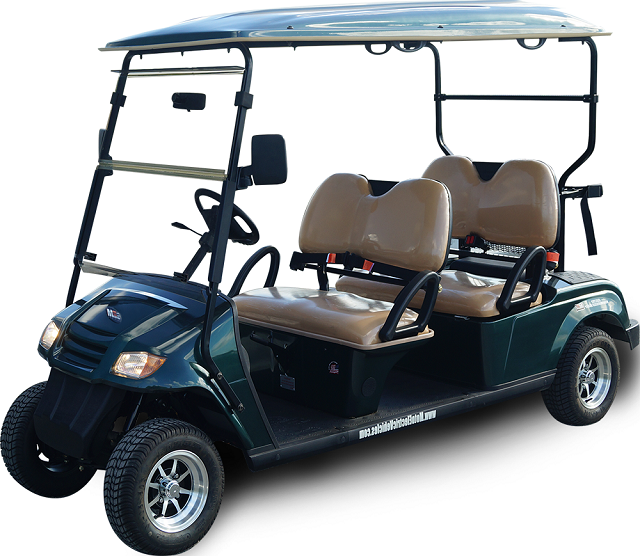 MotoEV 4 Passenger Forward Facing Golf Cart- Non Street Legal