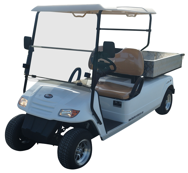 MotoEV 2 Passenger Utility Deluxe Golf Cart- Non Street Legal