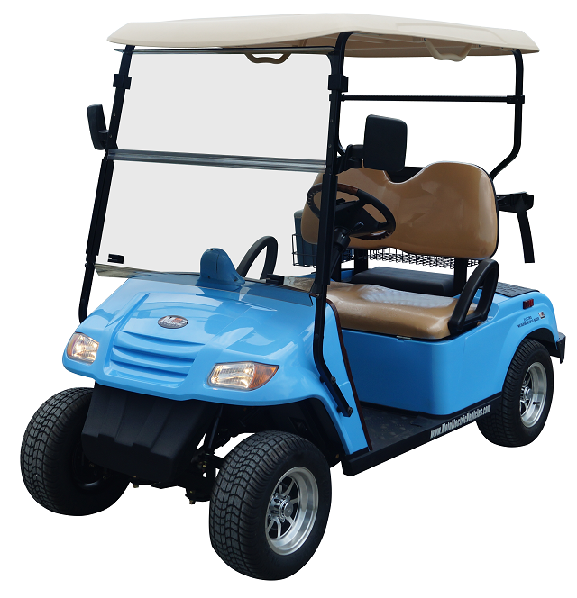 MotoEV 2 Passenger Golf Cart- Non Street Legal