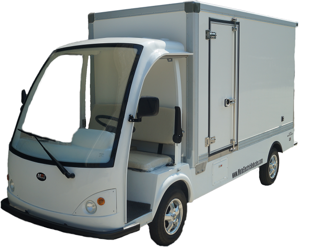 MotoEV Industrial Buddy 2 Passenger Delivery