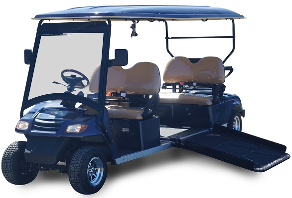 MotoEV 4 Passenger Wheelchair