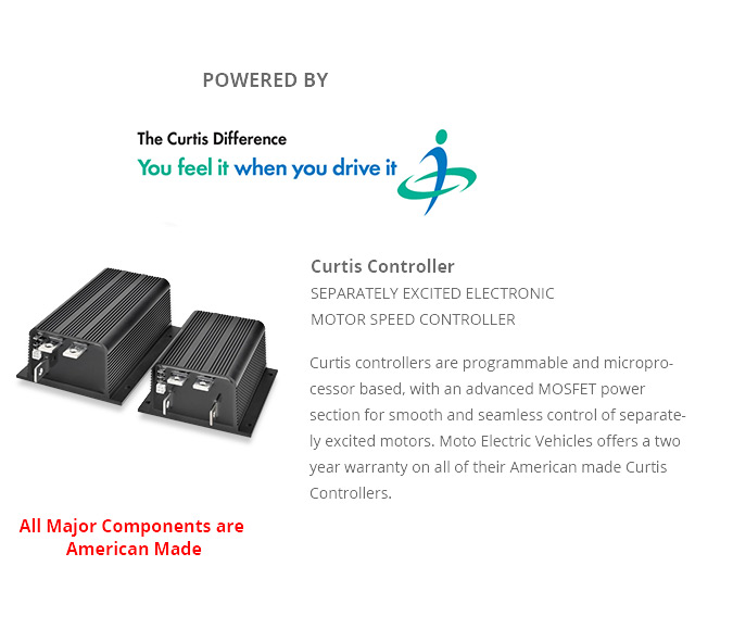 Curtis Electric Vehicle Motor Speed Controller